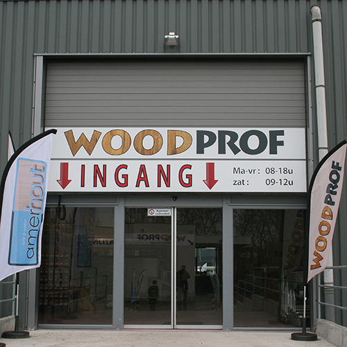 Openingsuren - Woodprof